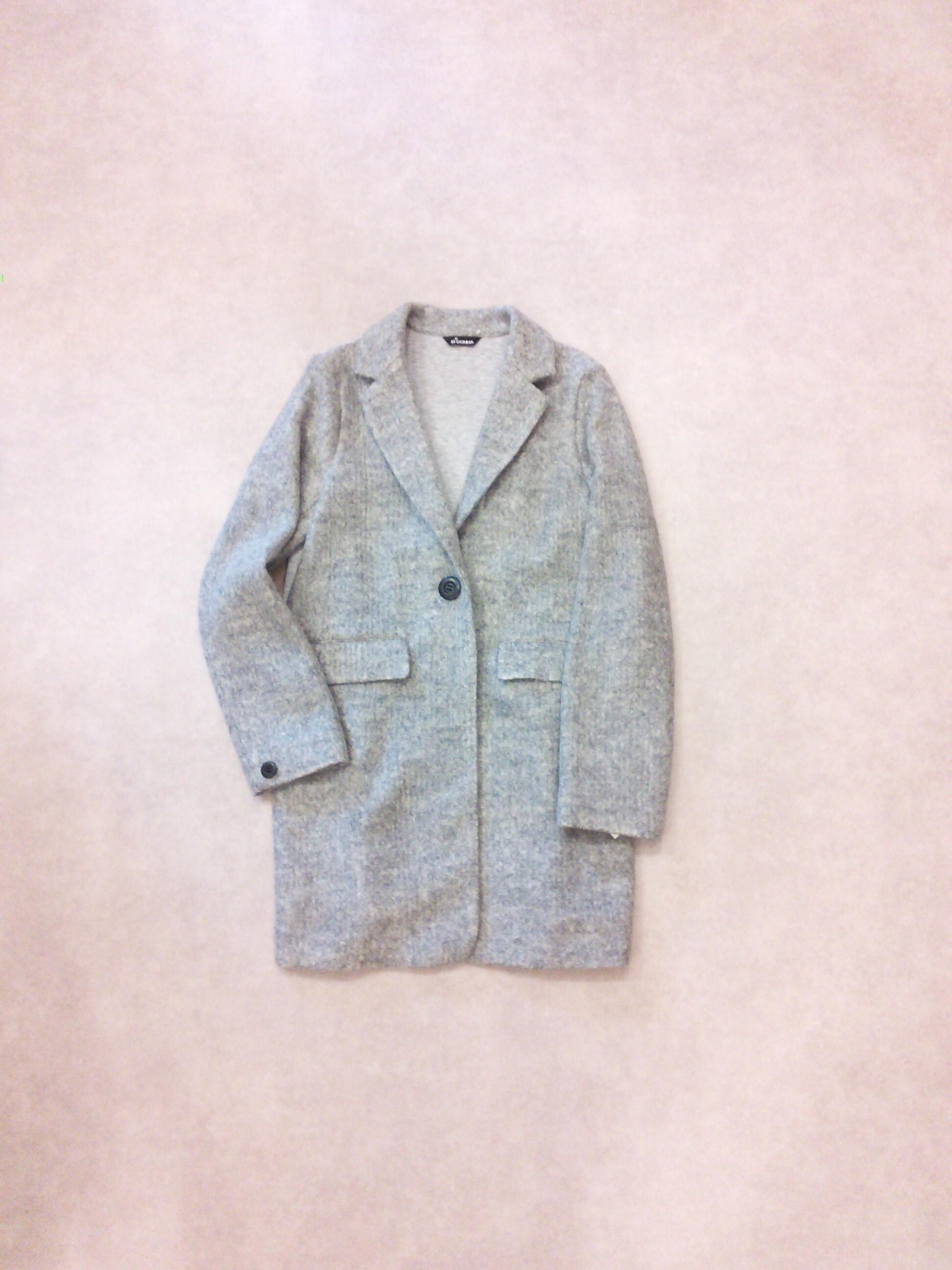 19268    圧縮ニット・異素材切り替えジャケット
