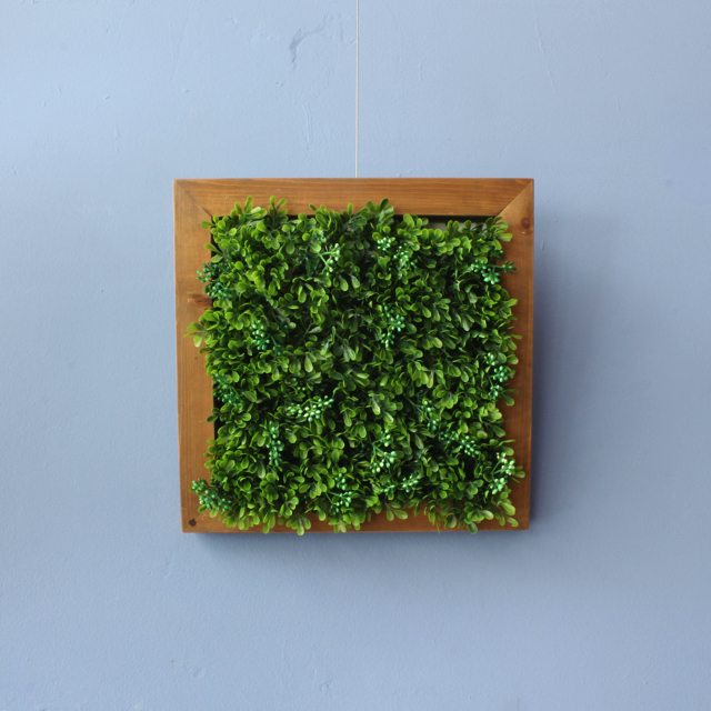 アレンジフェイクグリーン(光触媒) 廃材フレーム
