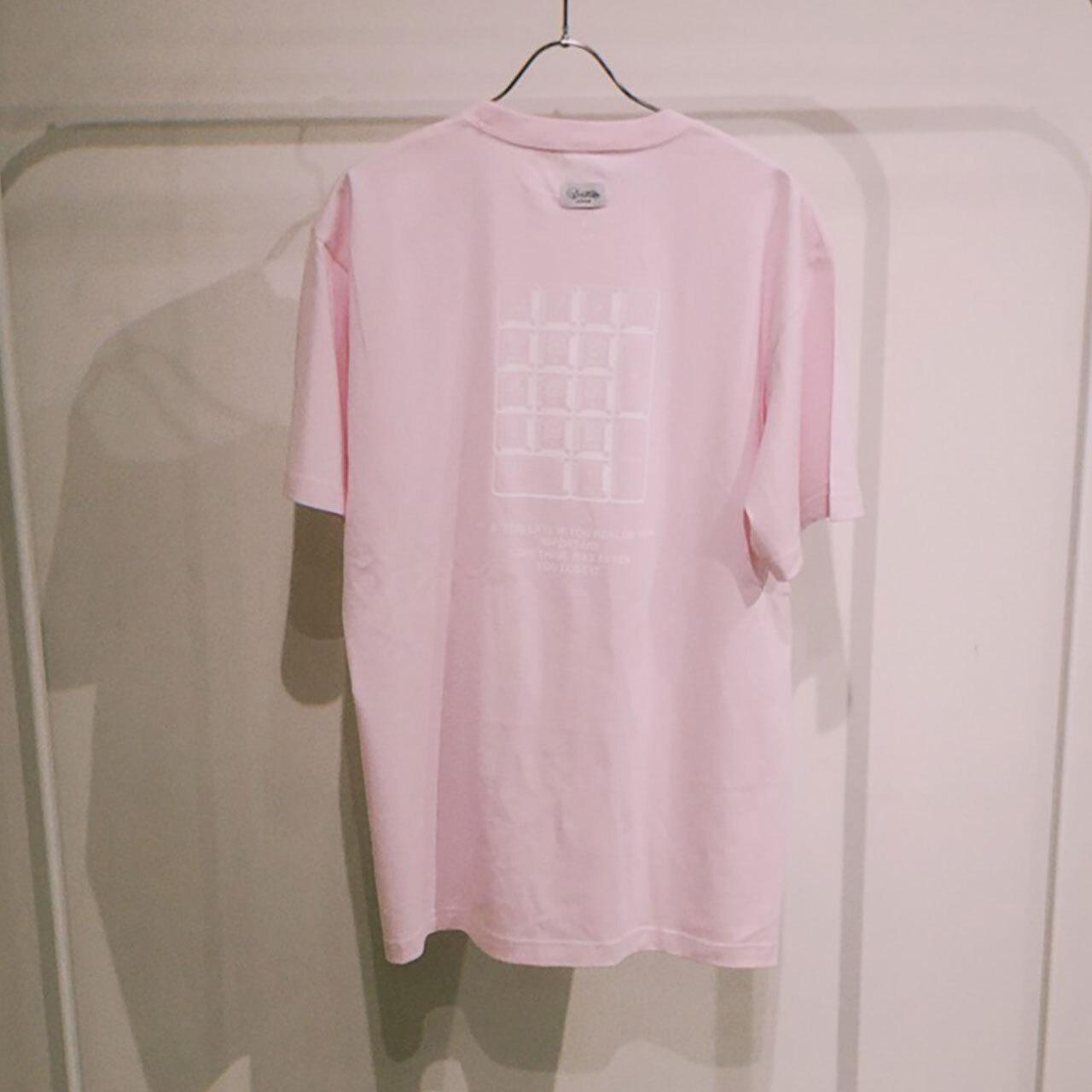 TENKI × A Man Collaboration Tee Pink × White