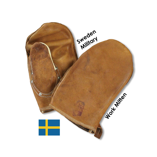 Sweden軍 ワークミトン[USED]
