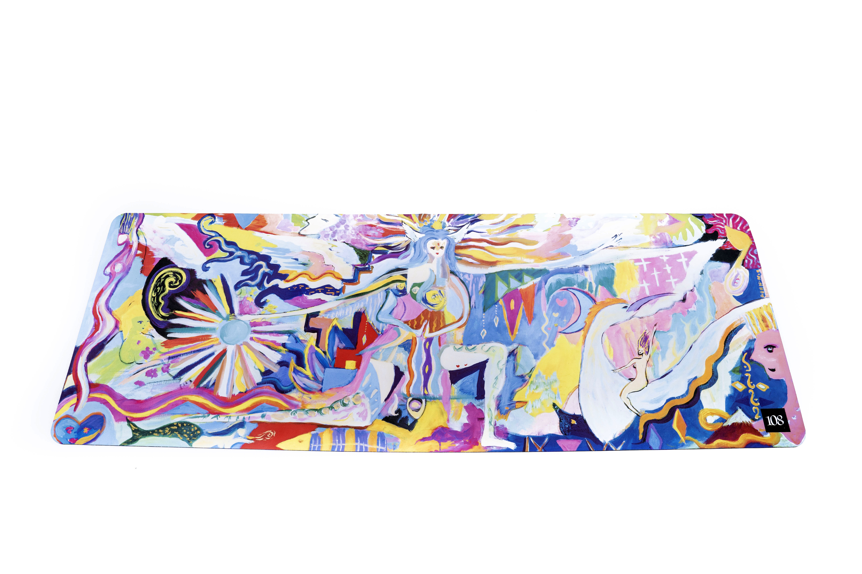 108.Toyko  ヨガマット【ケ・セラ・セラ  】By荻野綱久  1-A18-1