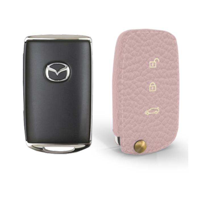 Mazda 専用 TypeB Car Key Case Shrink Leather Case