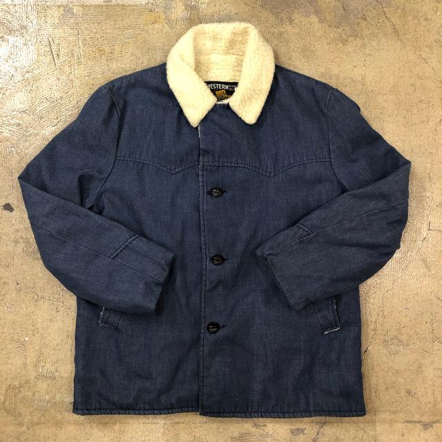 70's Sears Western Boa Jacket ¥7,900+tax