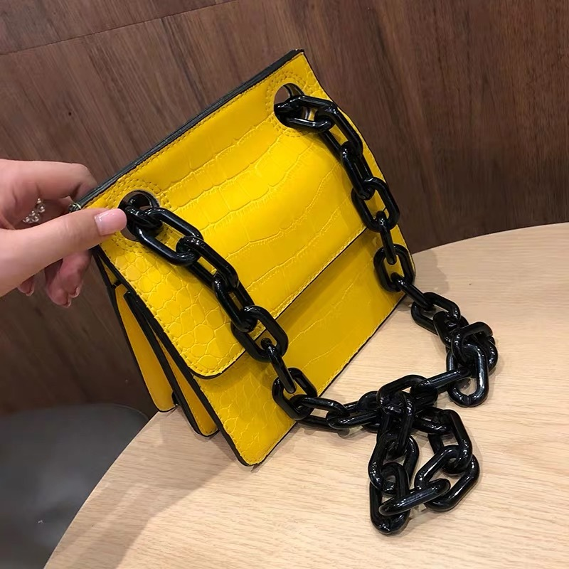 leather simple bag