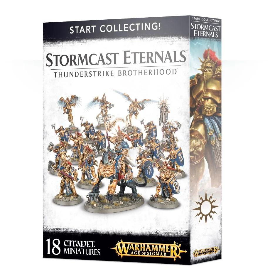 【ウォークライでもok!】Start Collecting! Stormcast Eternals Thunderstrike Brotherhood