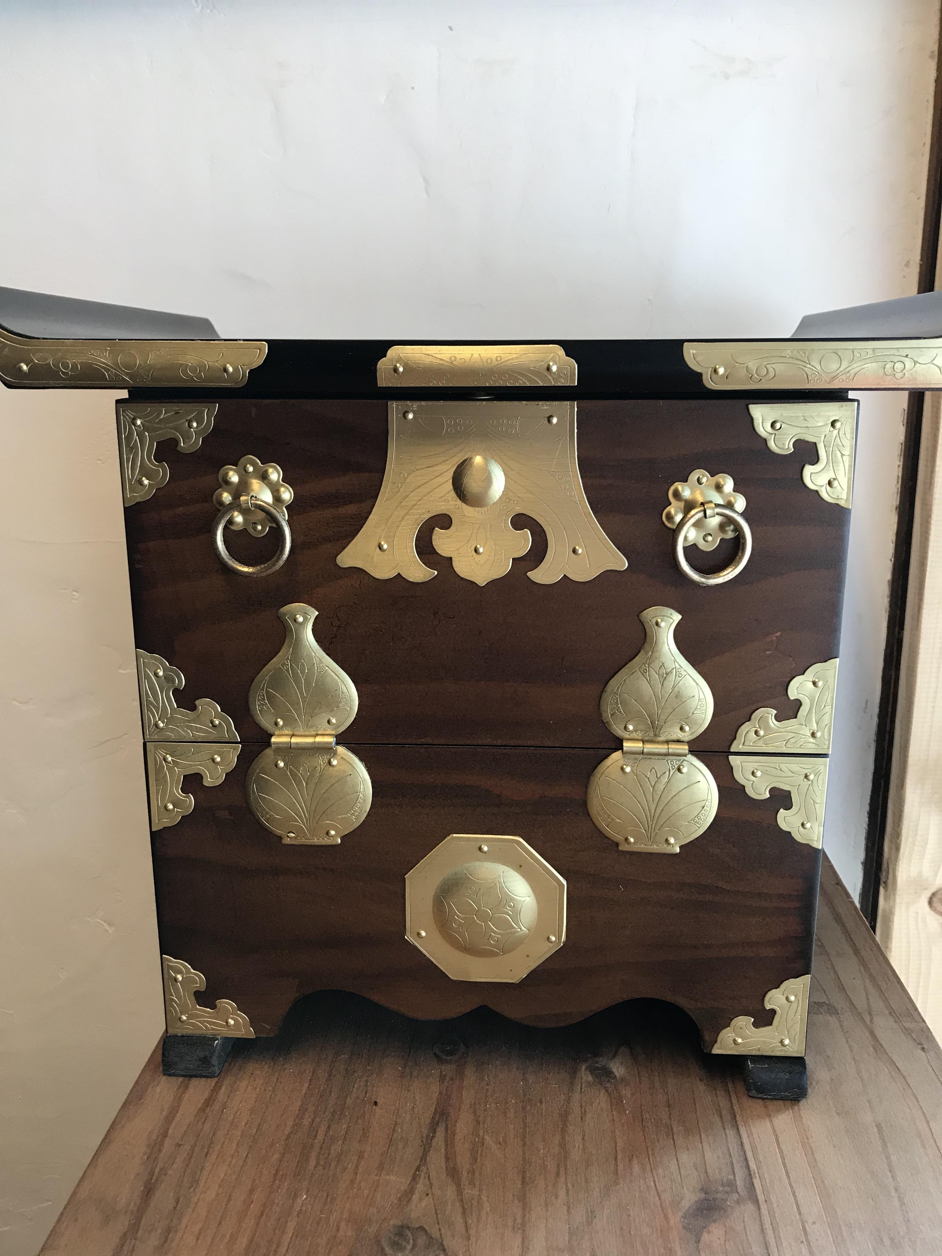 李朝家具 小型パンダヂ(レプリカ)