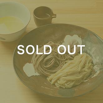 【らぁ麺 飯田商店】新麦つけ麺2種食べ比べセット
