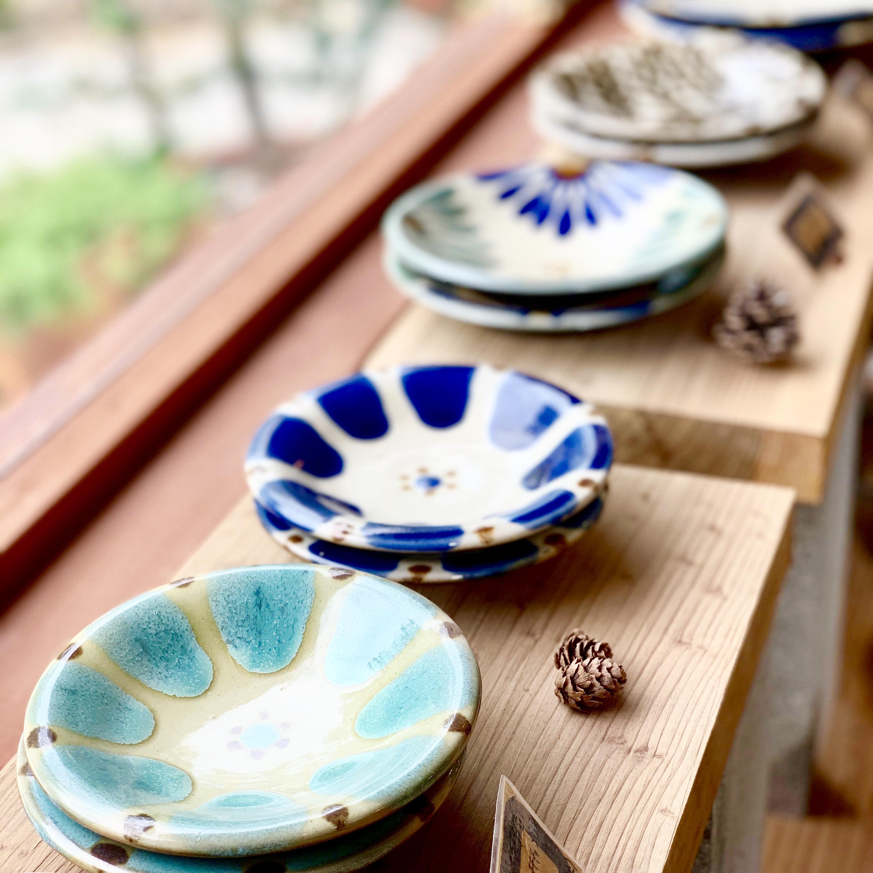 【受注生産商品】小皿 コバルト チチチャン ノモ陶器