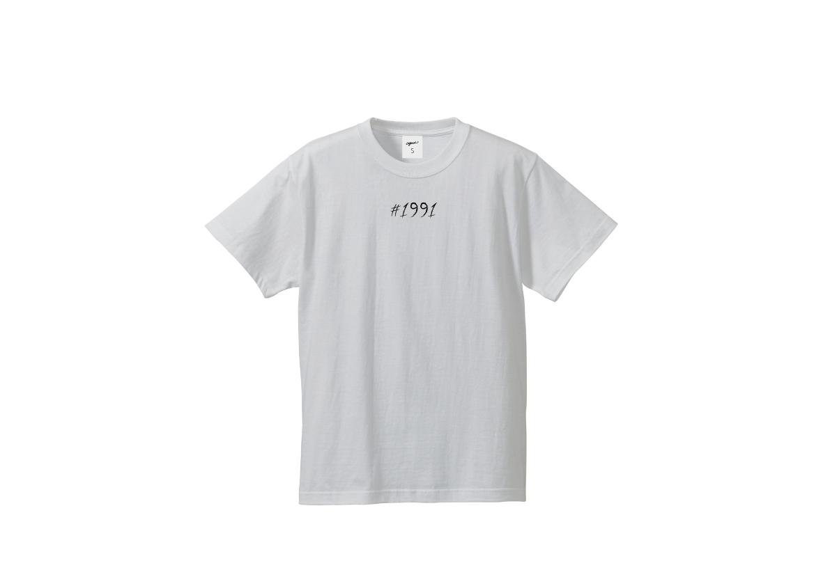 1991 T-shirt(wht/blk)