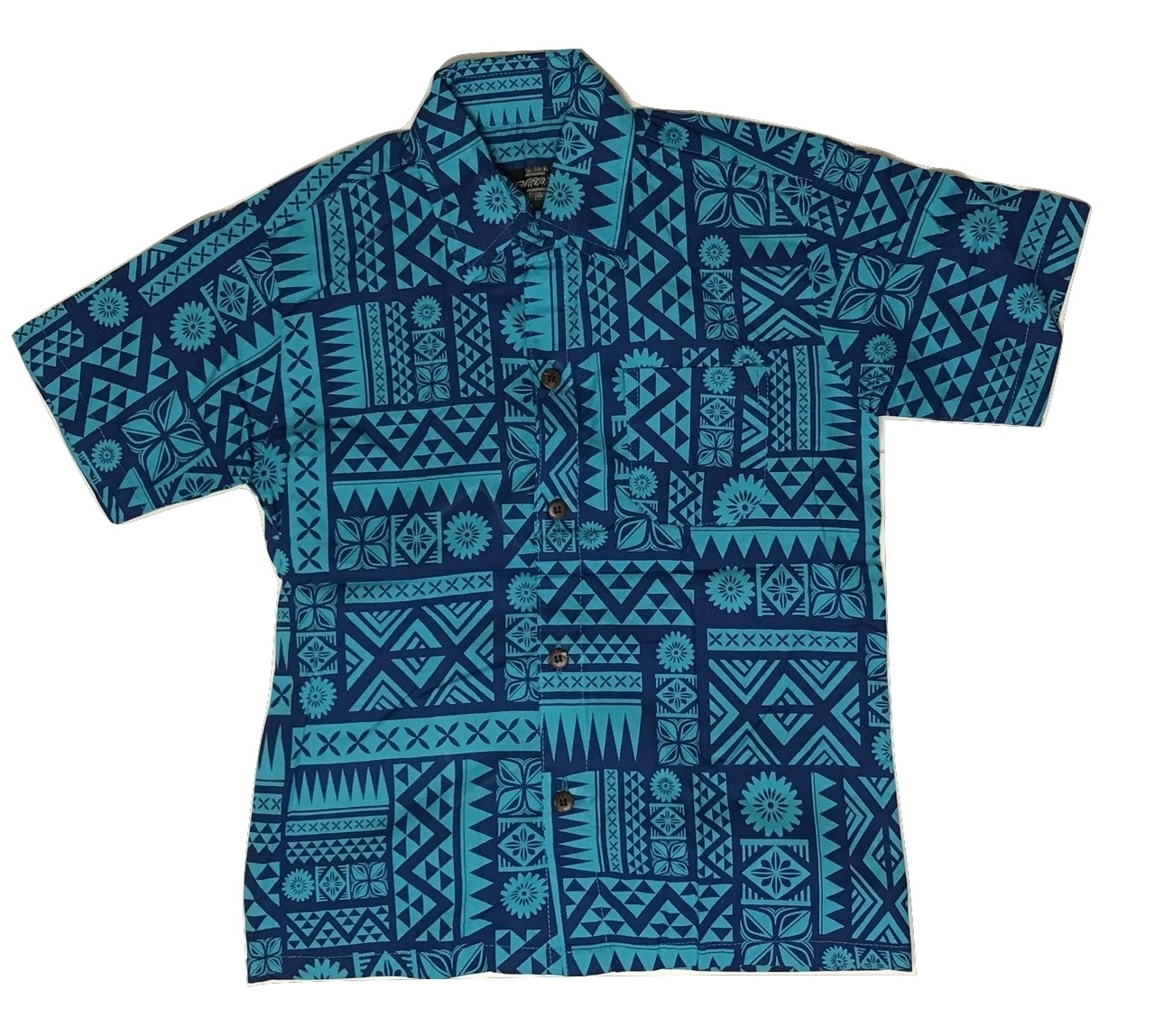 Aloha Shirt Blue【Kids】