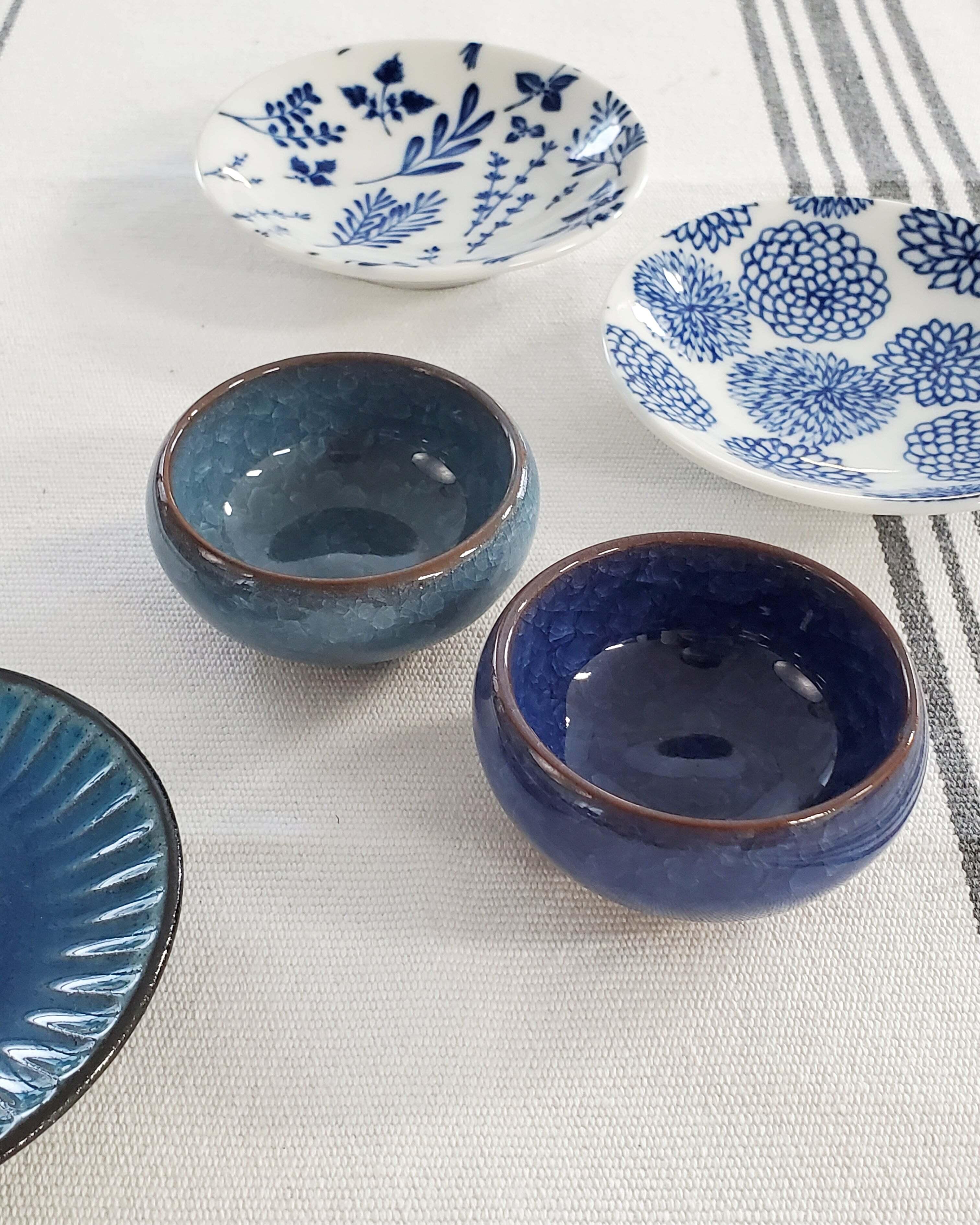 豆小鉢(ブルー)