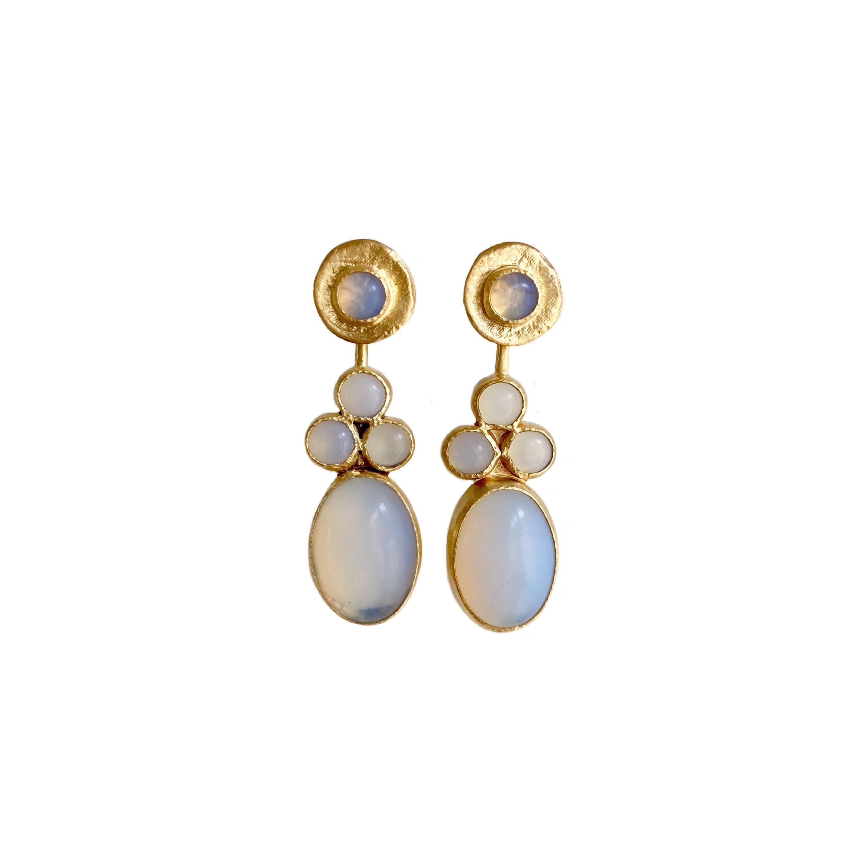 'party' pierced earrings
