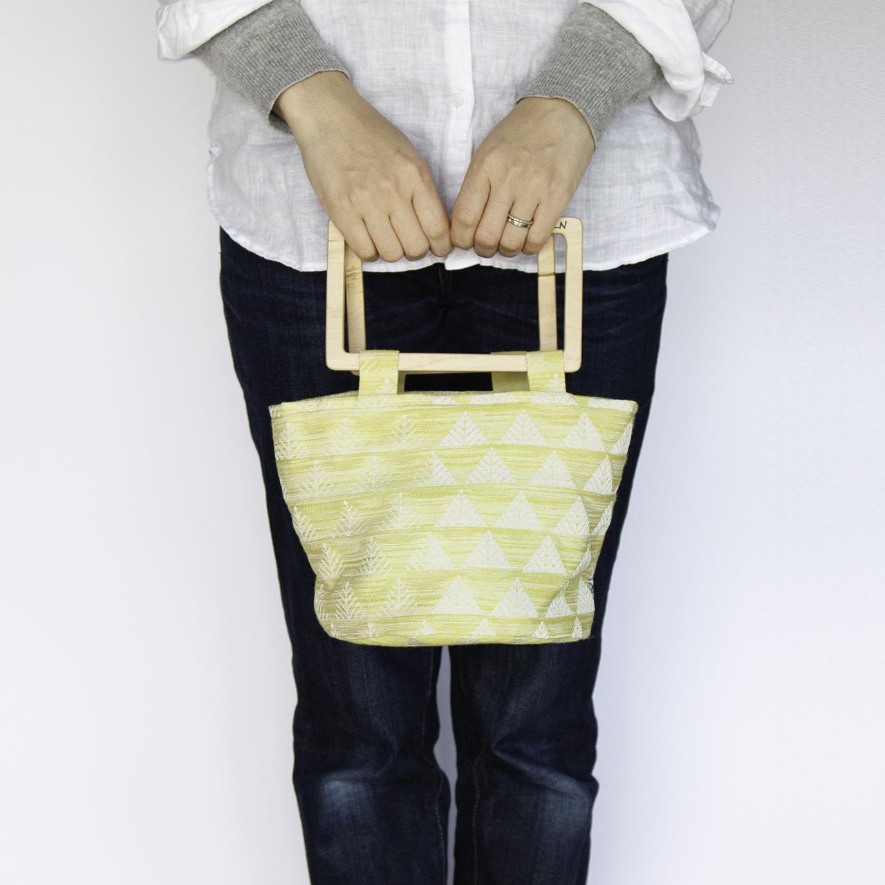 flowerpot bag / S [trees / lemon]