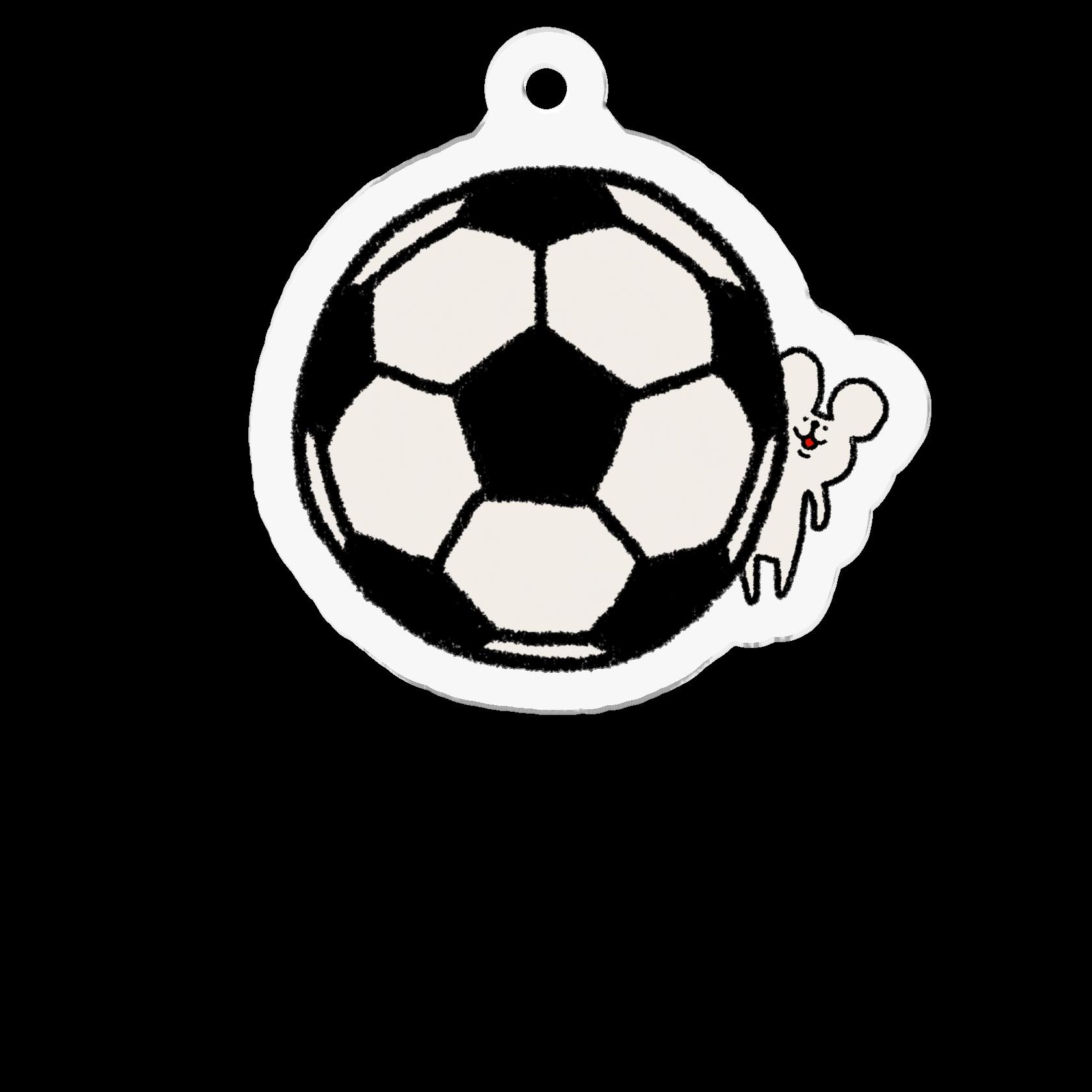 アクリルキーホルダー|サッカーしようや!