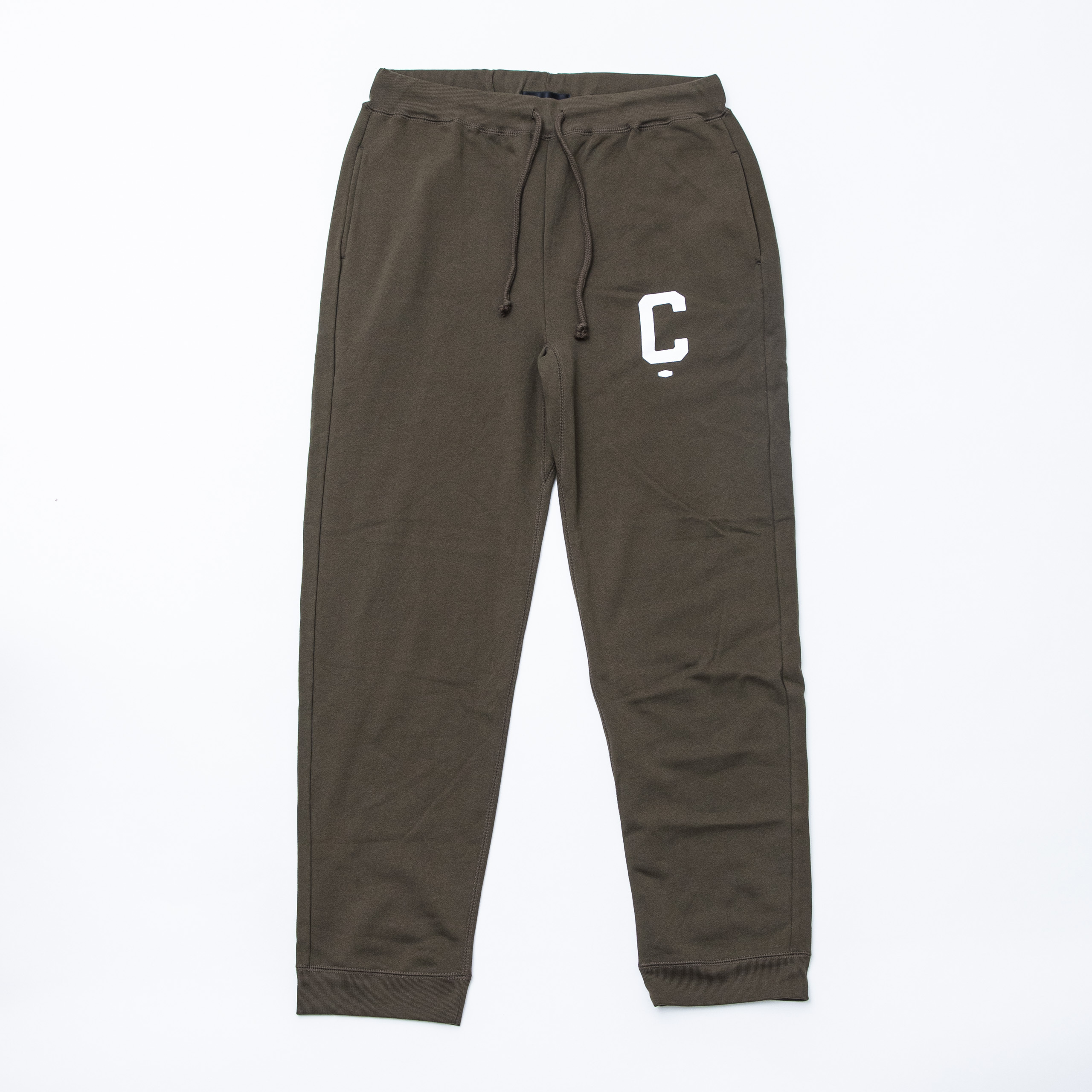 Big C Sweat pants KHAKI
