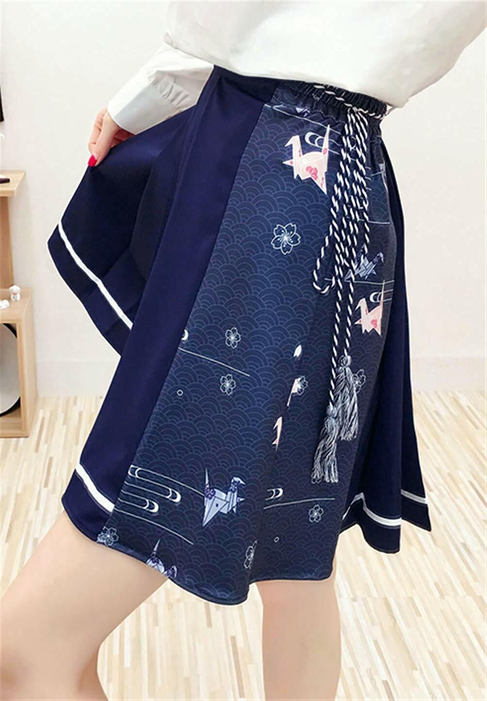 【在庫あり】折り紙プリーツスカート(Aライン/学院風/制服風)