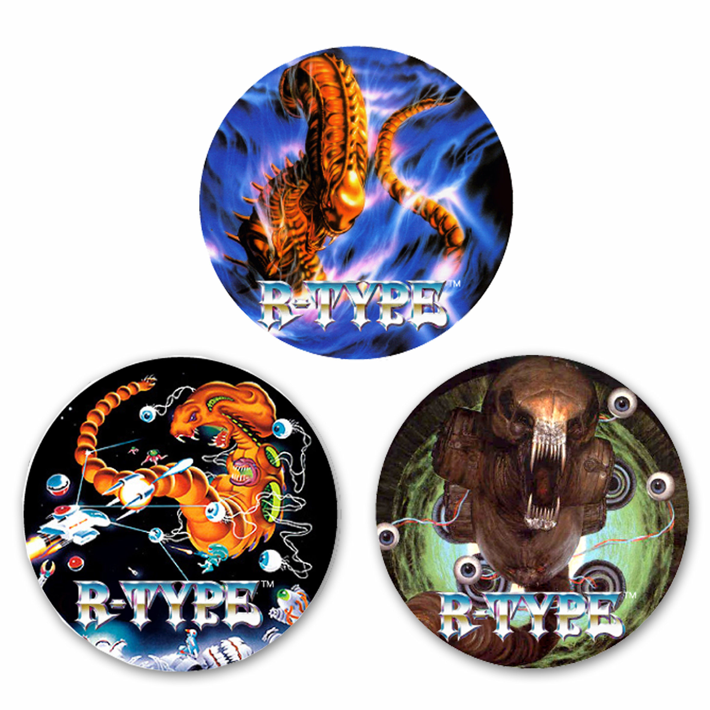 R-TYPE 缶バッジコレクション (3個セット) / GAMES GLORIOUS