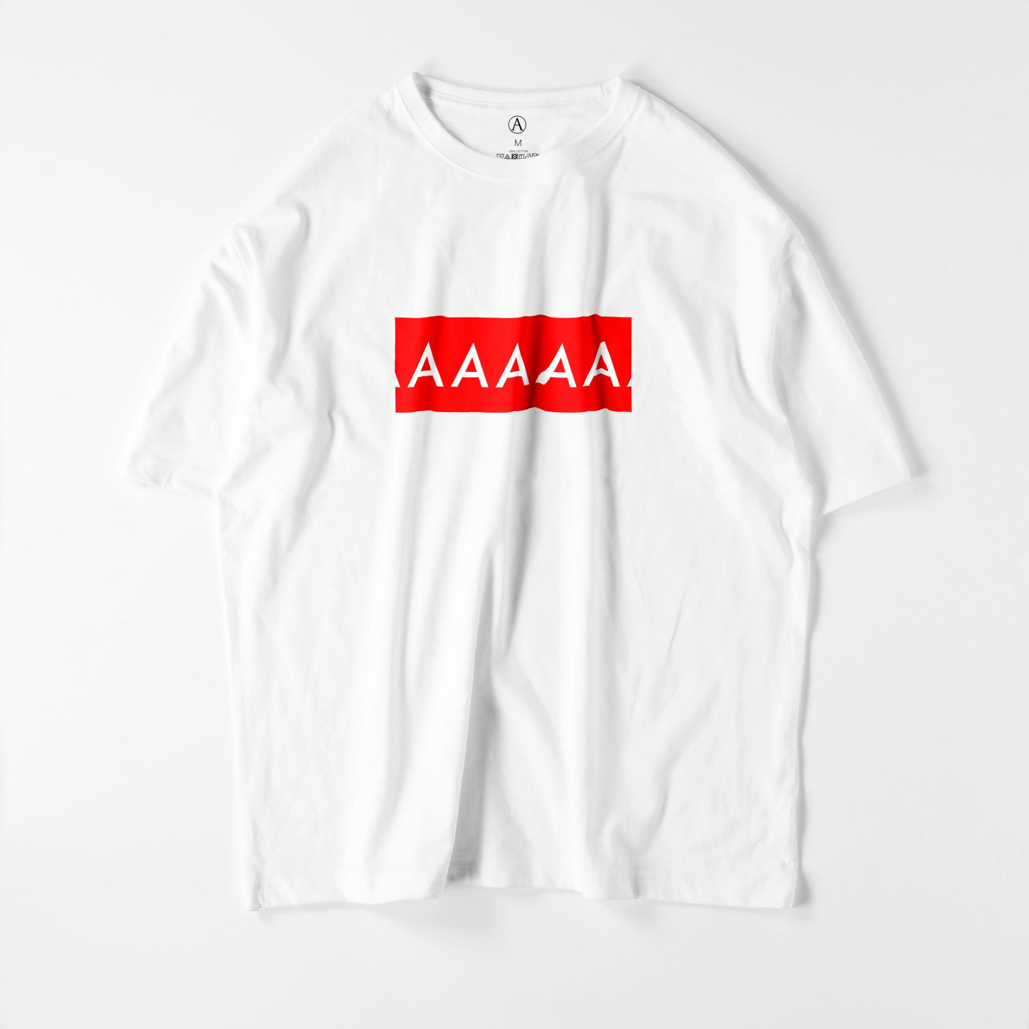 AAAAA ビッグシルエットTシャツ ホワイト / Mens