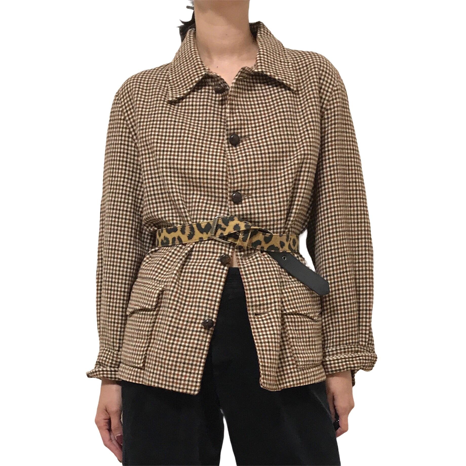 70's PENDLETON Gun Club Check Wool Jacket