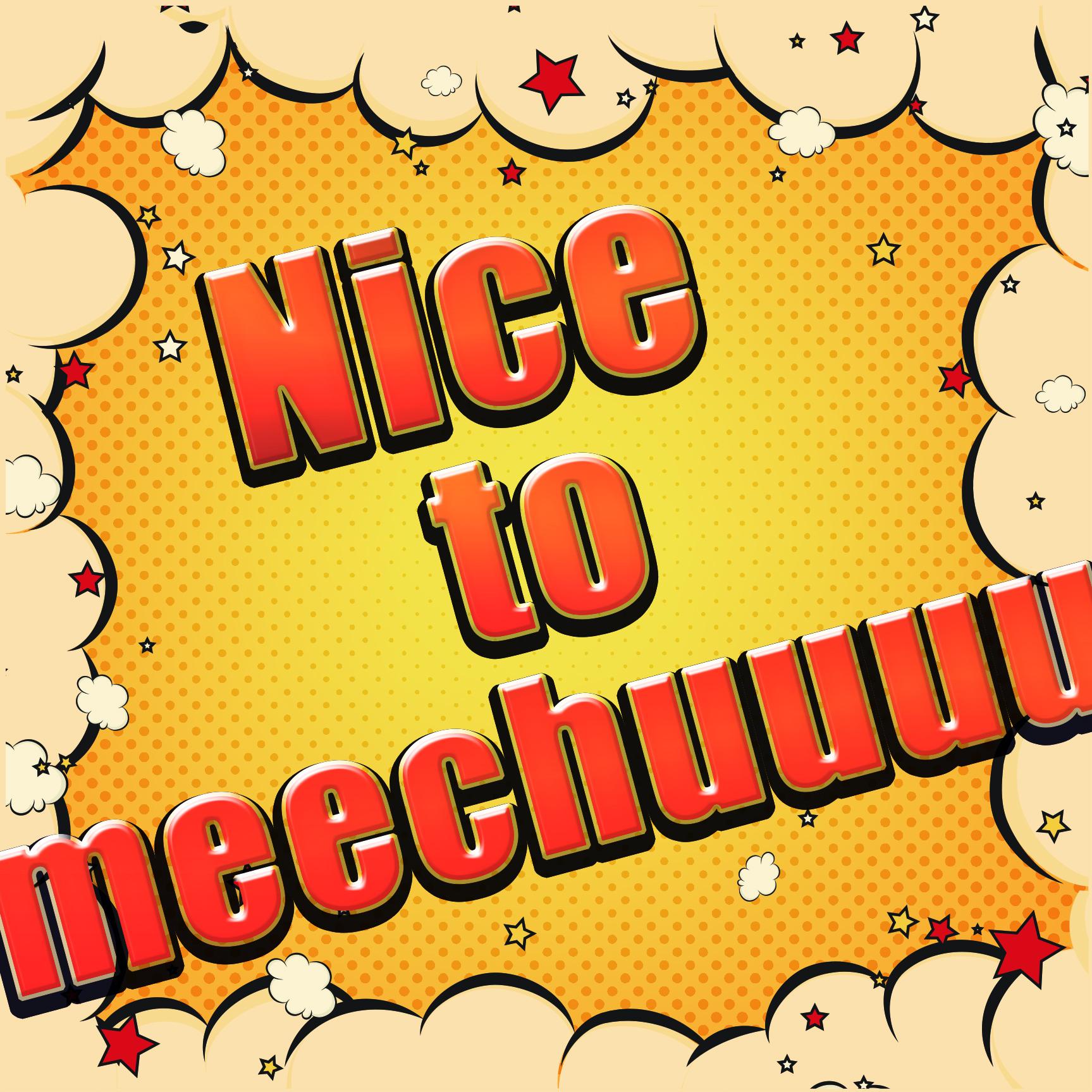 Nice to meechuuuu. / AYAKA UEHARA