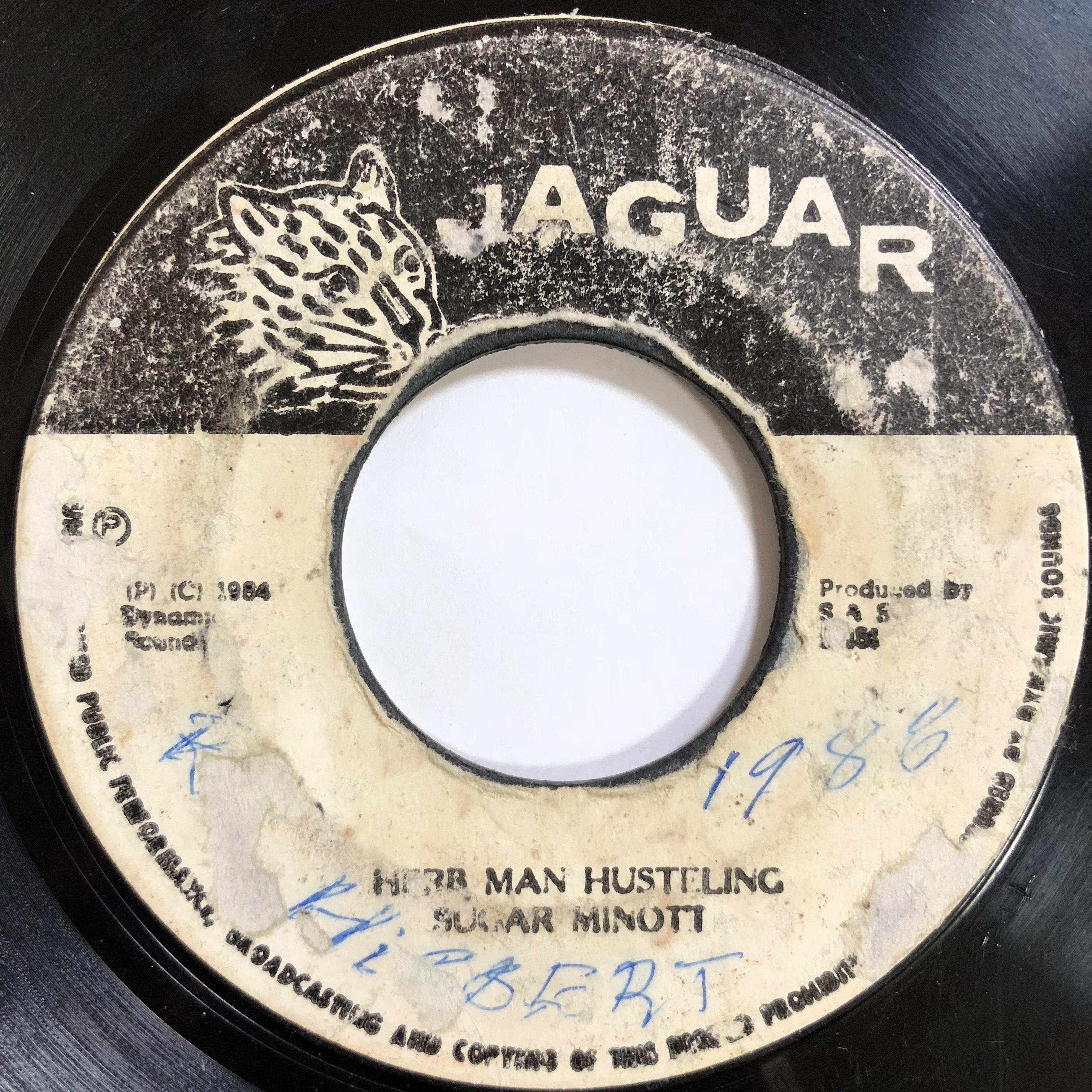 Sugar Minott(シュガーマイノット) - Herbman Hustling【7'】