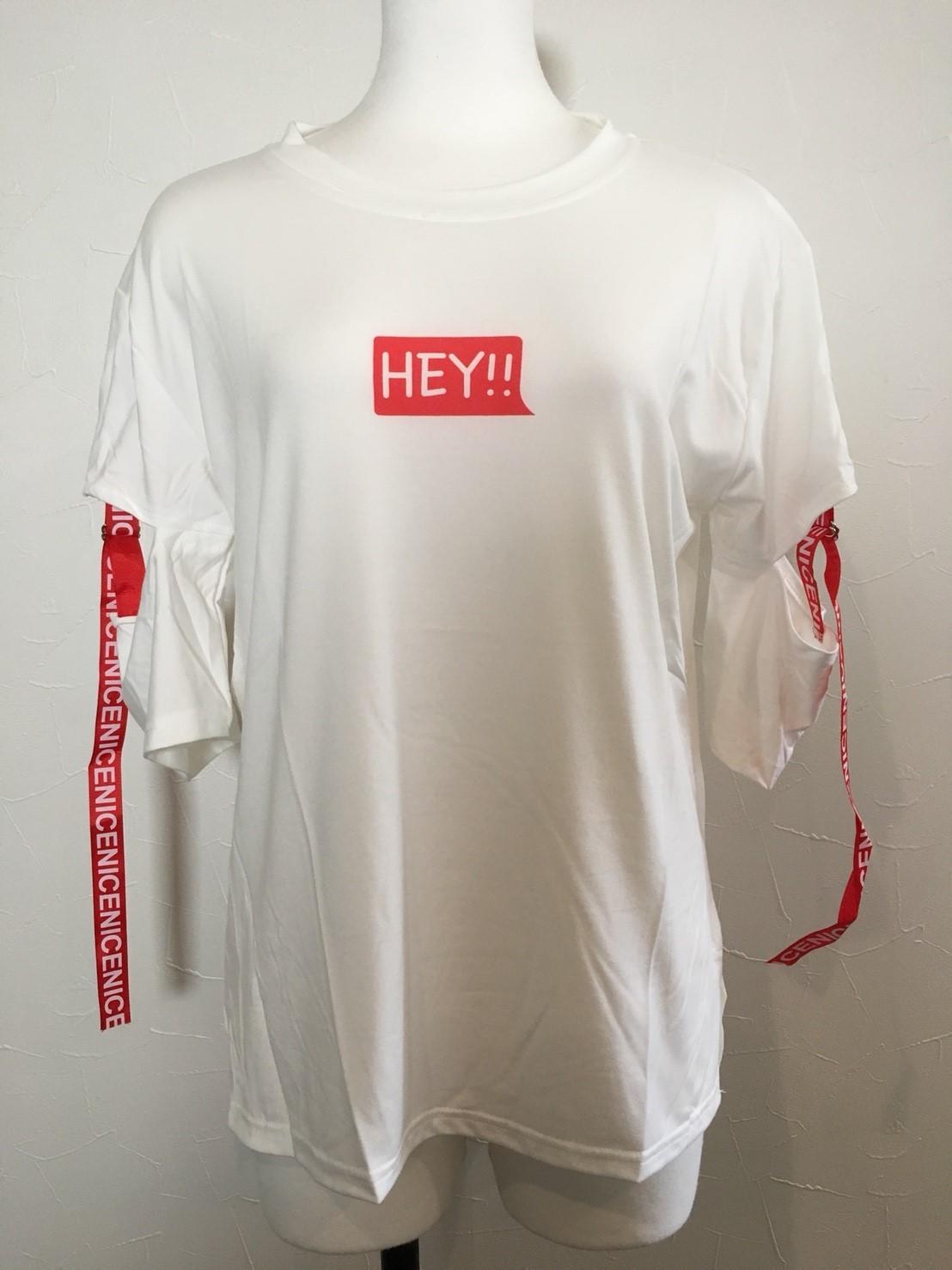 【在庫あり】HEY!! Tシャツ