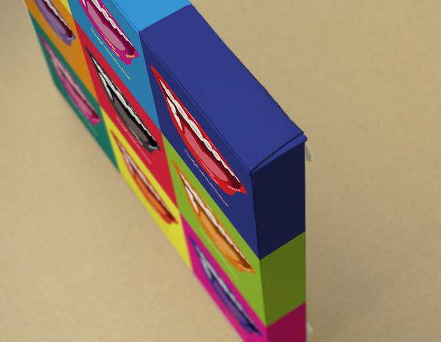Orthodontic(Color)キャンバスプリント(B3サイズ・木製パネル貼り)
