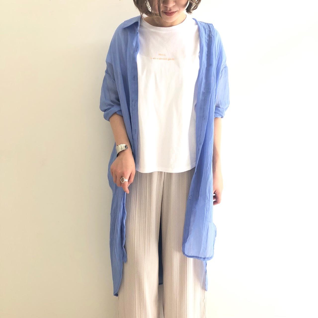 【 ROSIEE 】- 152716 - ロングシャツ