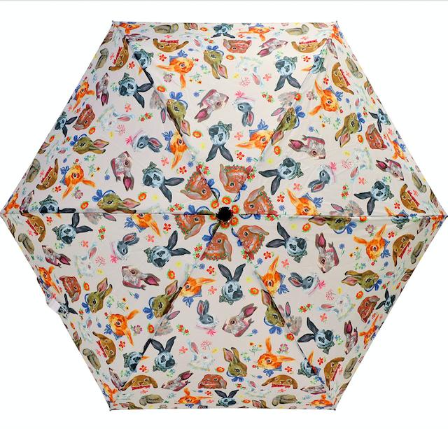 Nathalie Lete Folding umbrella Rabbit / ナタリーレテ 折り畳み傘