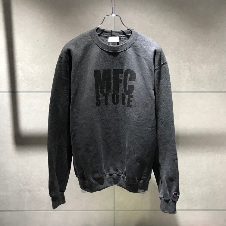 MFC STORE LOGO CREWNECK SWEATSHIRT / CHARCOAR HEATHER