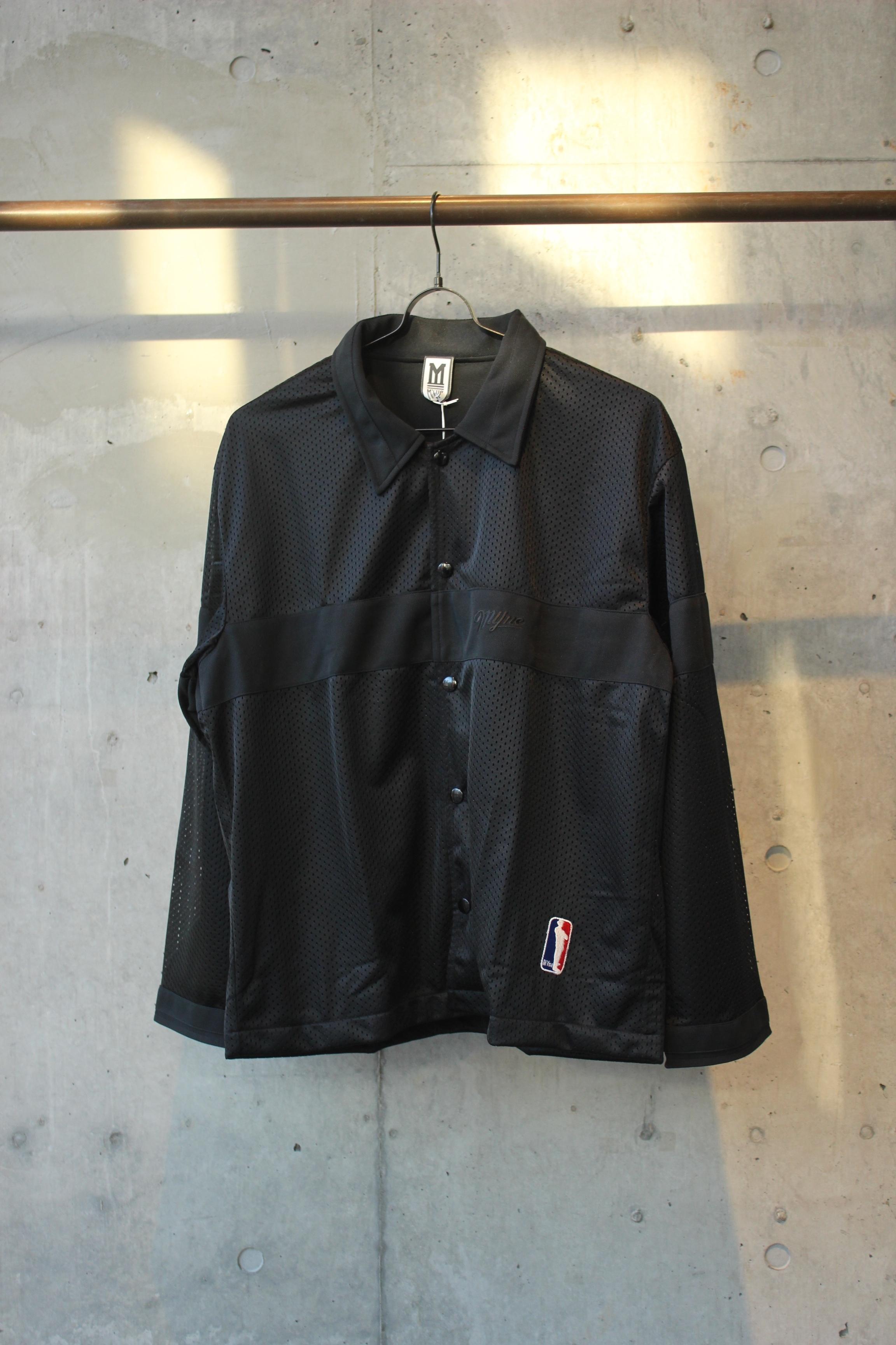 【50%OFF】mesh sports jacket / BLACK - 画像1