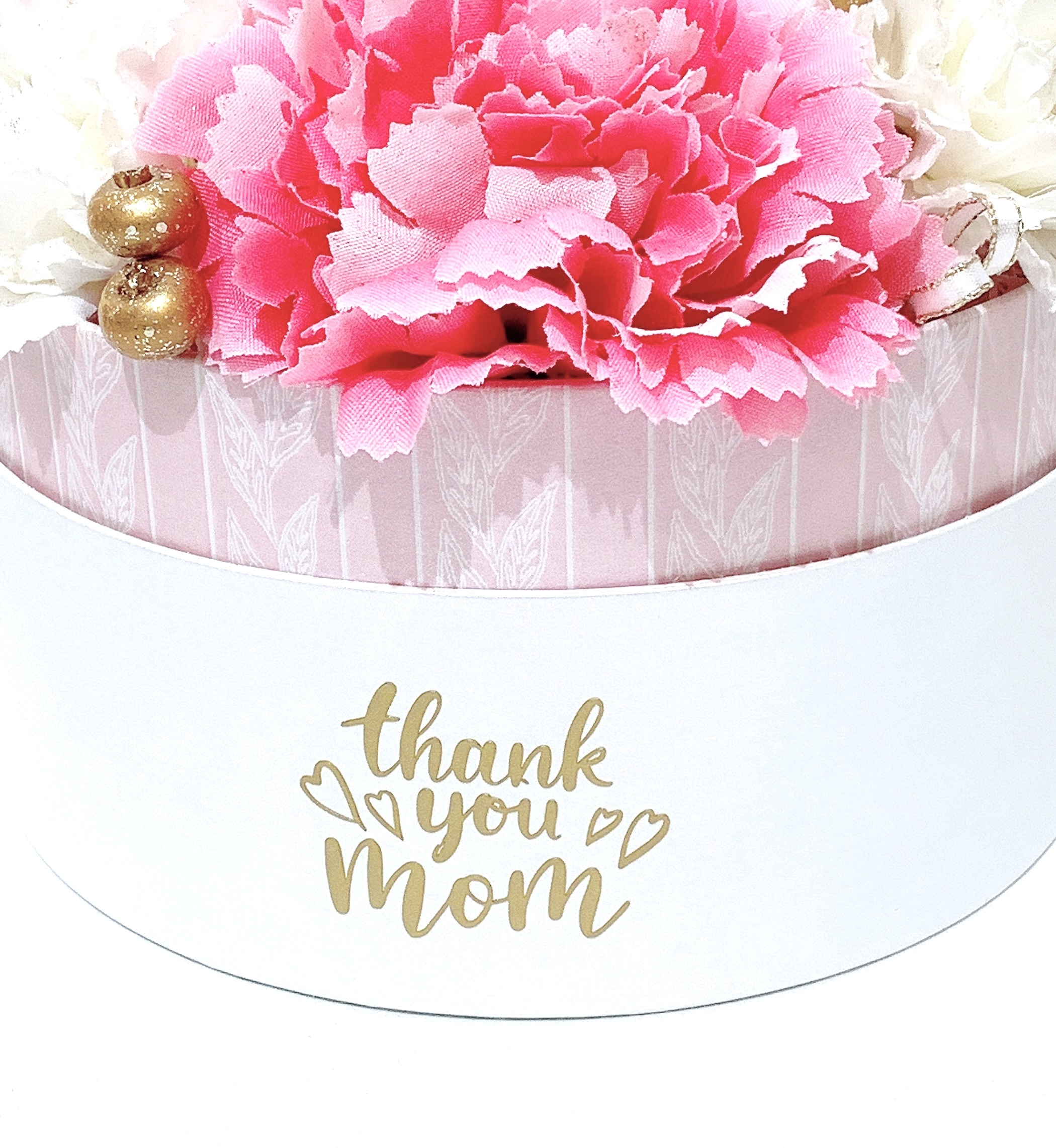 【母の日ギフト】BOXアレンジ(ピンク)