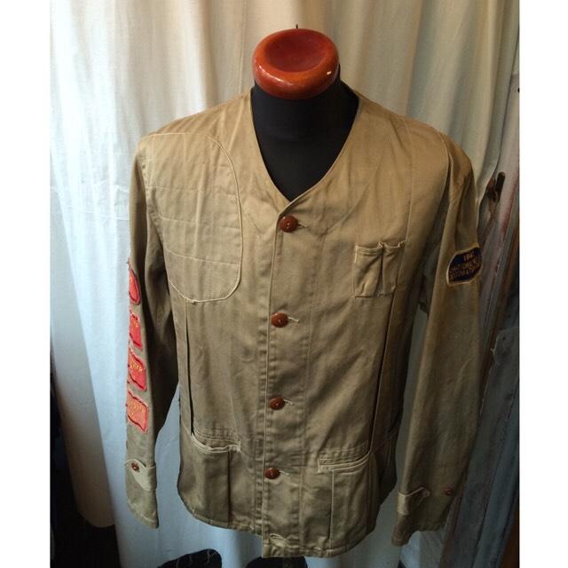 40's vintage 10-X シューティングジャケット