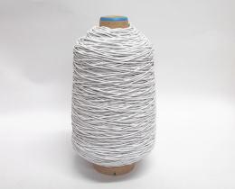 マスク用のゴム(日本製) オフ白 3㎜径でふんわり・すっきり 2000m巻