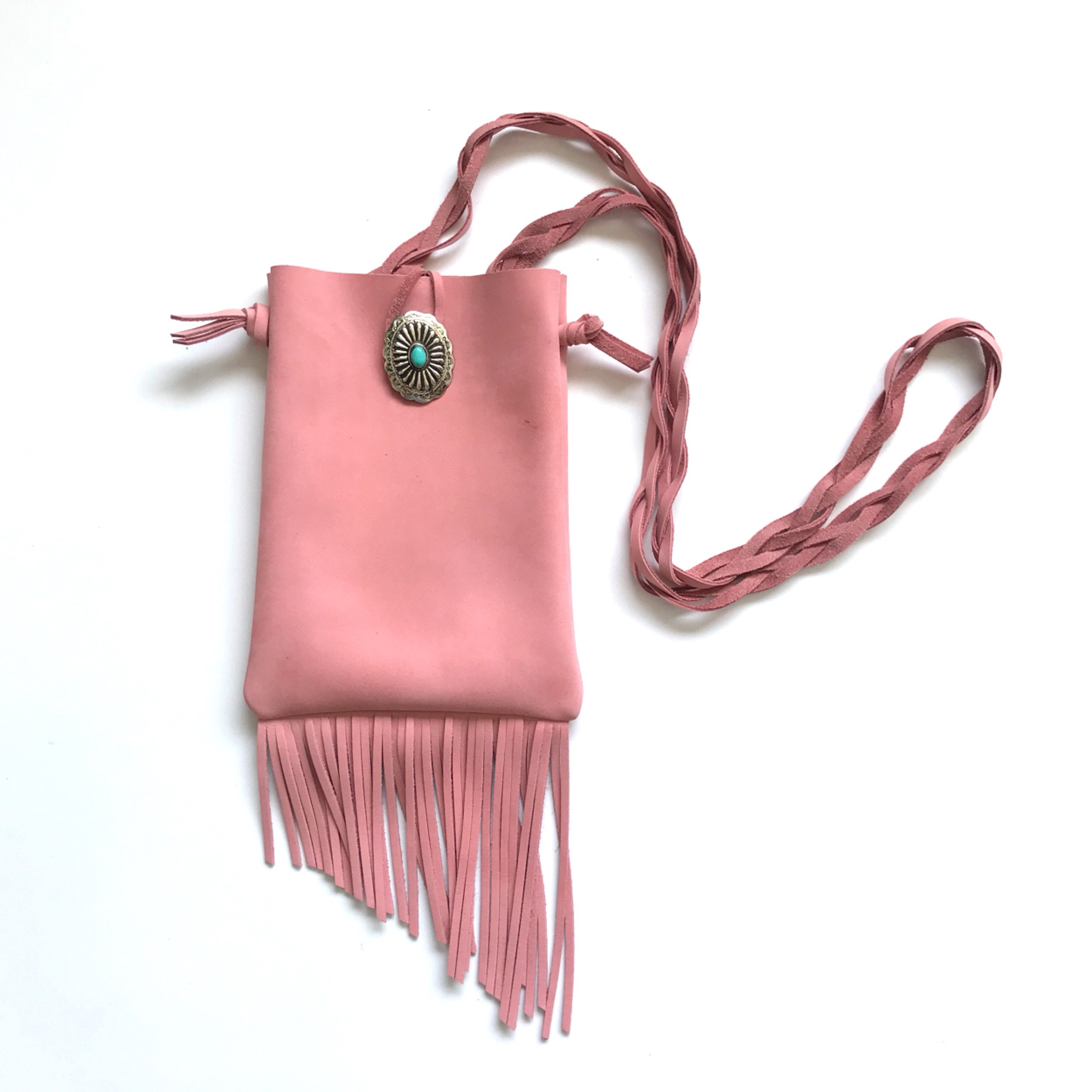 Fringe Shoulder Bag  <DREAMY>