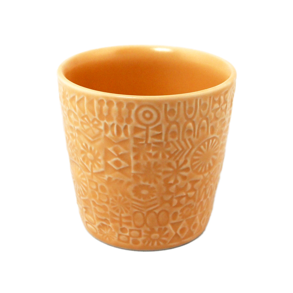 BIRDS' WORDS Patterned Cup shell pink