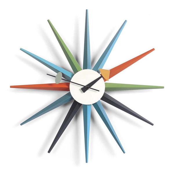 Vitra Sunburst Clock マルチ