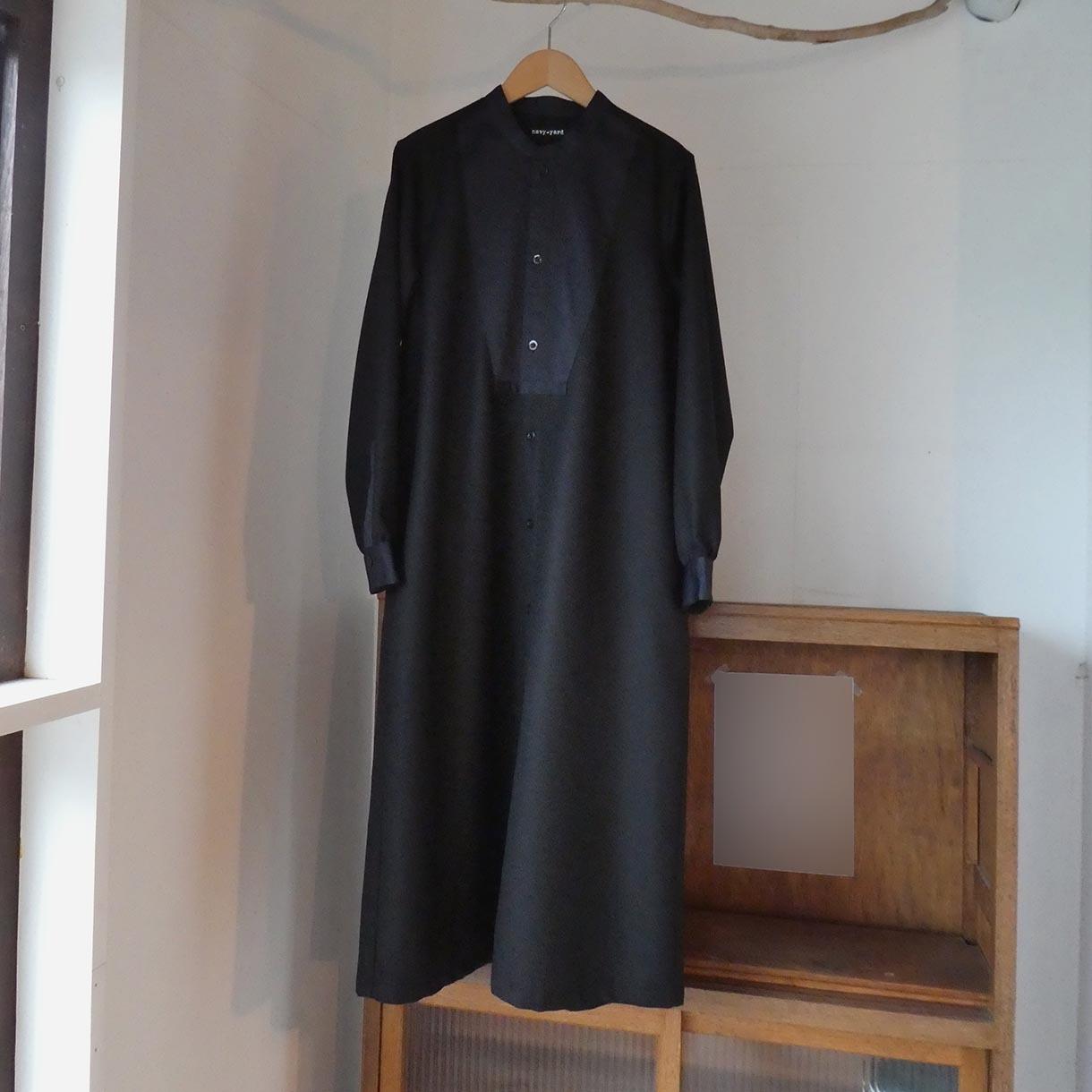 ウールサキソニー ブザムドレス