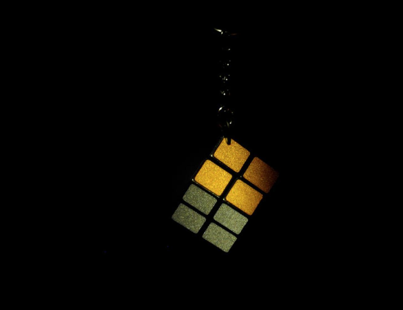 マジックキューブ キーホルダー (反射材仕様)