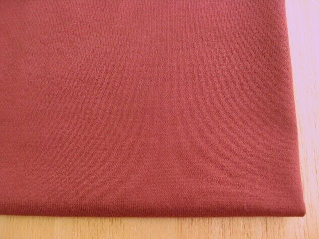 J&B定番 綿30双糸スーパー度詰天竺 トゥルーレッド NTM-2610