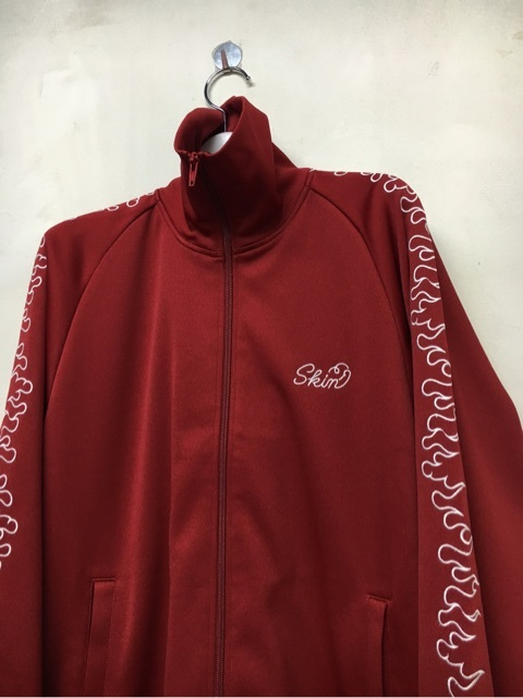 SKIN / fire track jacket(red) - 画像2