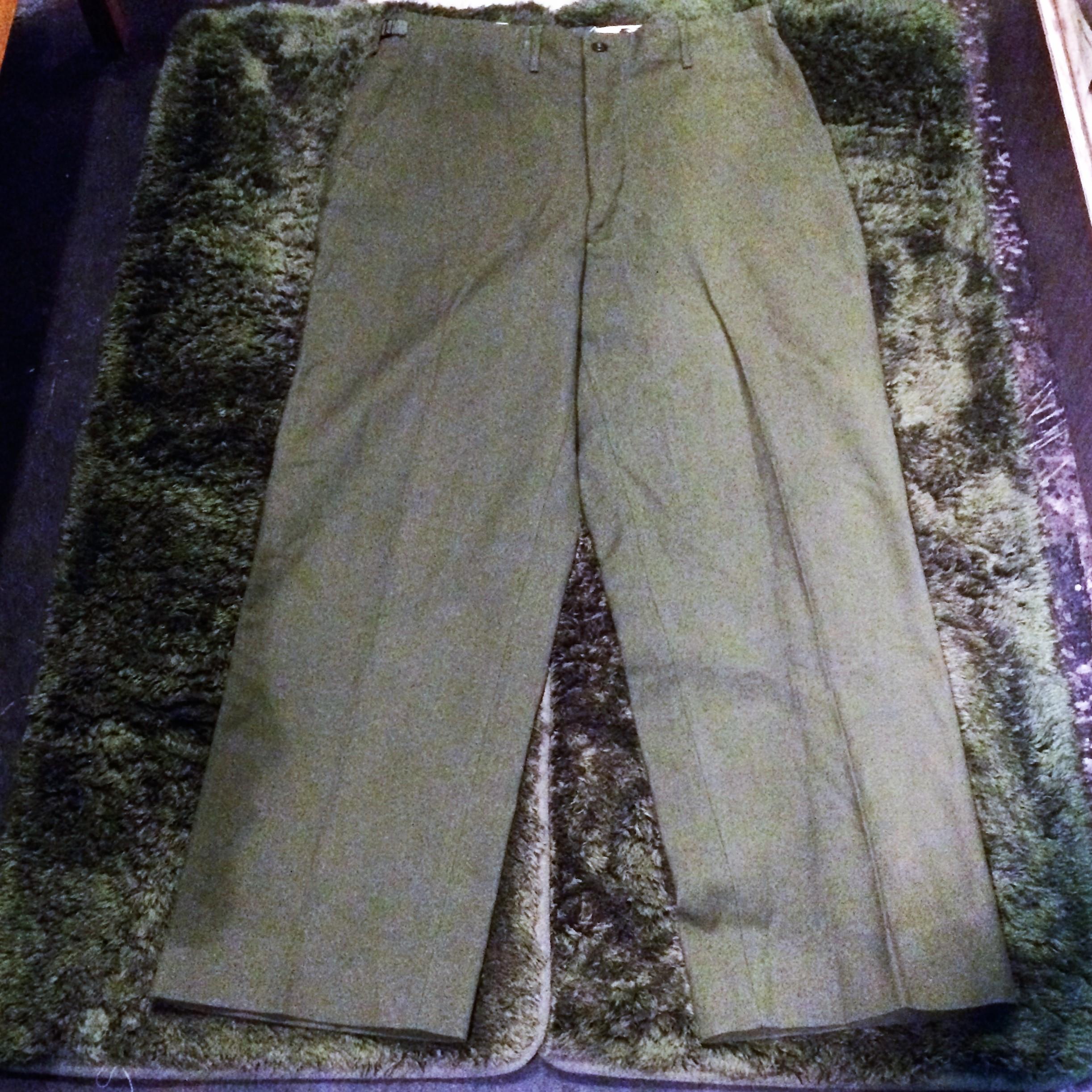 1951年製vintage M-51 Wool Trousers