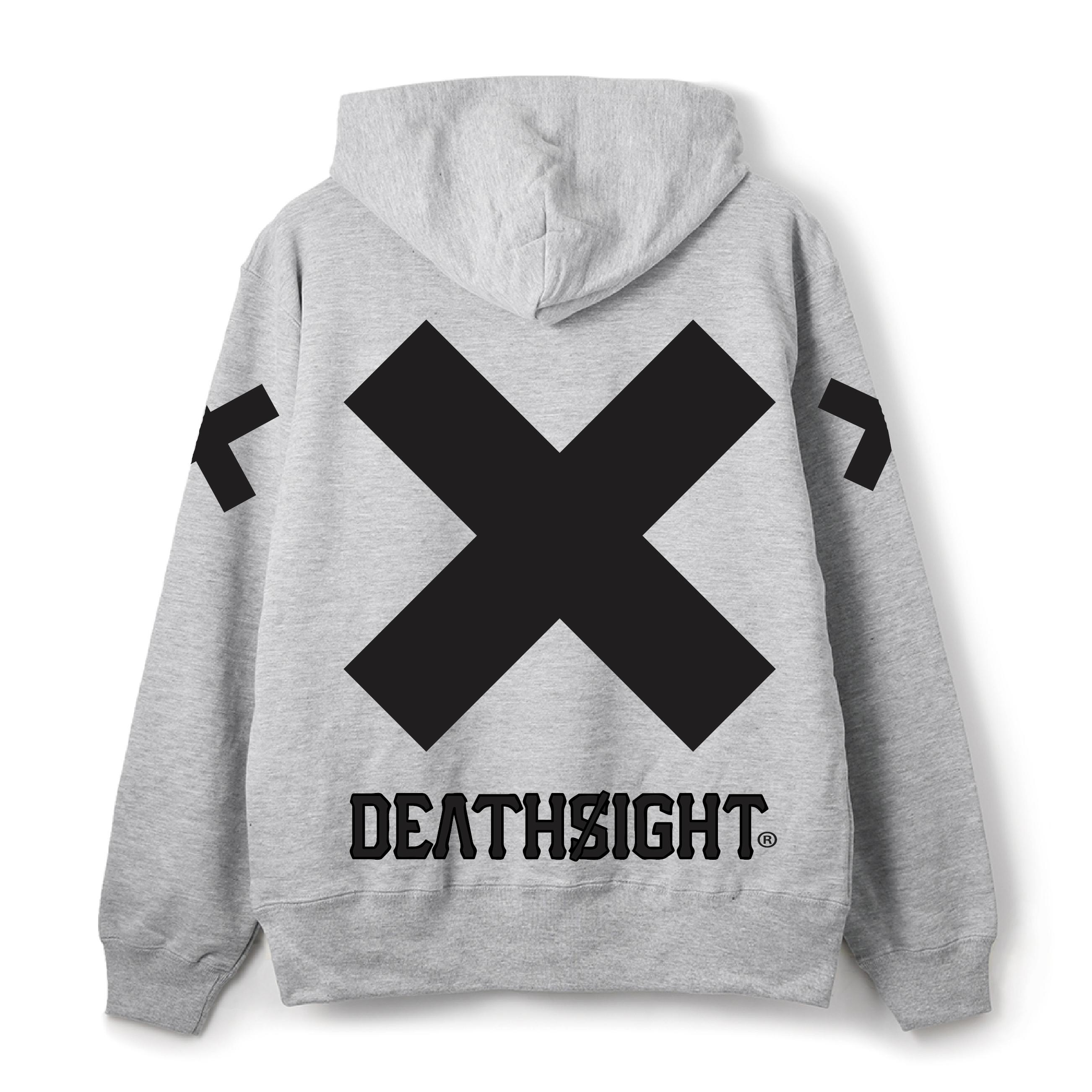 deathsight 17 Hoodie / GRAY - 画像2