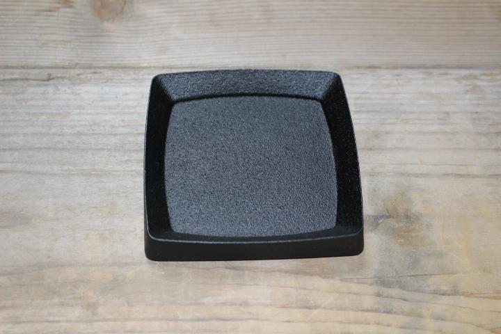 HinoLab M トレイ ''Square'' S (カラー塗装ブラック)