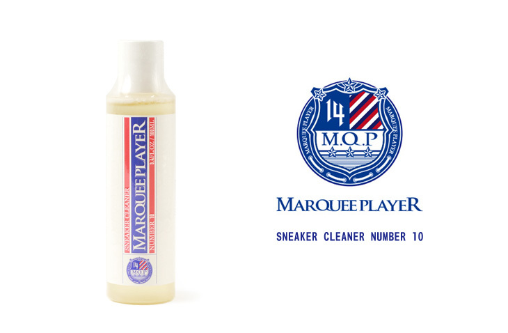MARQUEE PLAYER (マーキープレイヤー) SNEAKER CLEANER NUMBER 10 スニーカークリーナー100ml