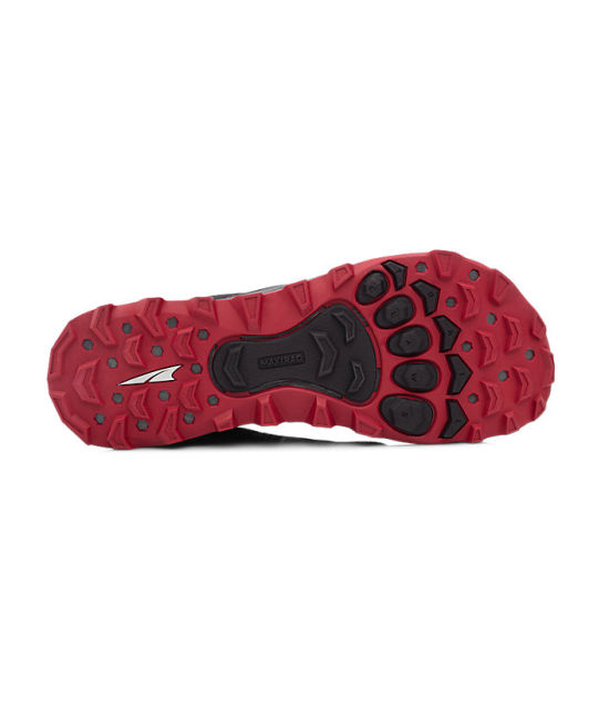 Black//Red Altra AFM1855F-06 Men/'s Lone Peak 4 Trail Running Shoes