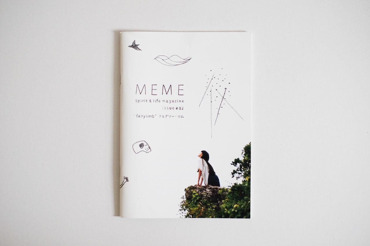 MEME spirit and life magazine issue #02