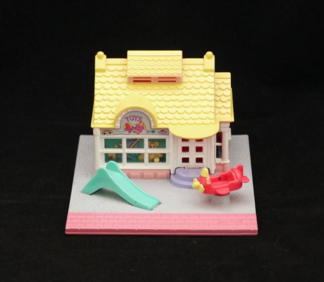 ポーリーポケット トイショップ 1993年完品 ポーリータウンシリーズ