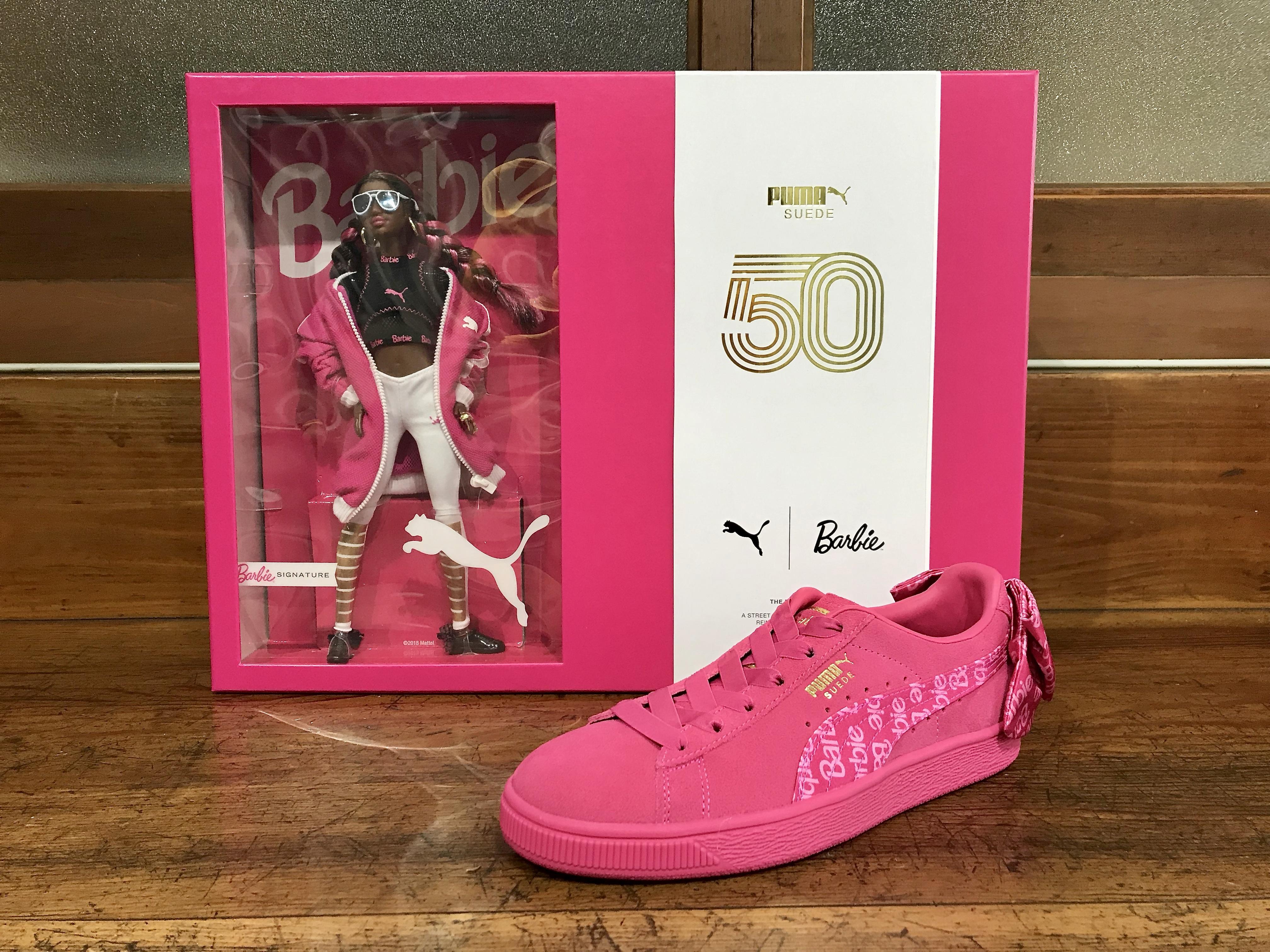 Mattel Puma Barbie 2018 Signature Suede Sneaker Doll