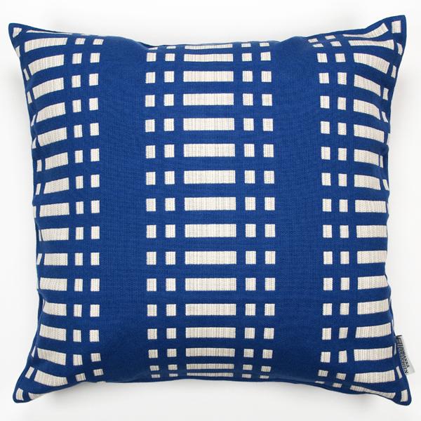 JOHANNA GULLICHSEN Zipped Cushion Cover Nereus Blue